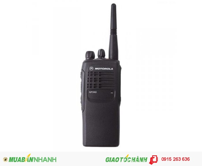 Máy bộ đàm Motorola GP340 VHF - Pin HNN9010A