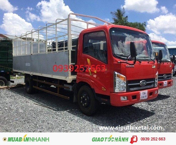 Bán xe tải veam VT260 tải 1t99 thùng dài 6m2
