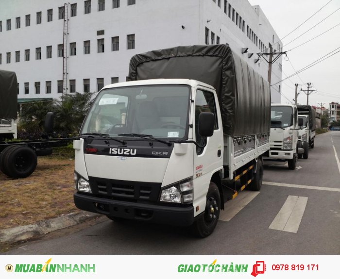 Xe tải nhẹ isuzu  2,5 TẤN QKR55H