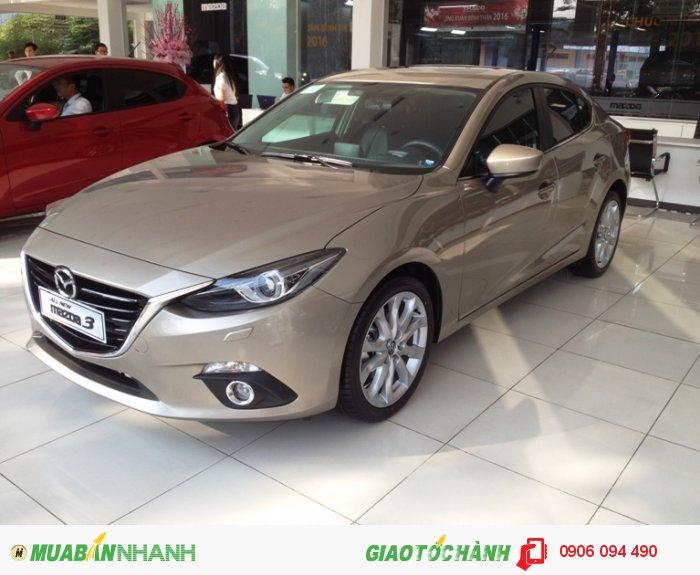 Mazda 3 All new mới 100%, mazda 3 ưu đãi cực sốc, mazda 3 nhiều quà tặng nhất tại mazda Gò vấp