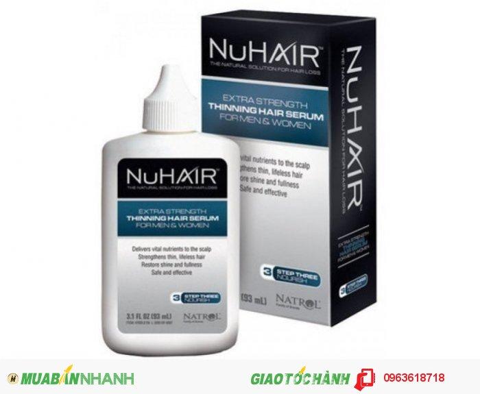 Tóc thưa, mỏng mọc dầy và nhiều hơn với SP mọc tóc | Sản phẩm hỗ trợ mọc tóc từ thiên nhiên| Thành phần: Fo-Ti, Rosemary (hương thảo), Polygonum multiflorum, Tocopheryl Acetate, Panthenol, Chamomile & Sage (hoa cúc và xô thơm), vitamin A & E, Grape Seed Extract...| Công dụng: bổ sung các chất dinh dưỡng tự nhiên giúp giảm rụng tóc và thúc đẩy tăng trưởng giúp mọc tóc nhanh chóng. Giá bán: 1,500,000đ2