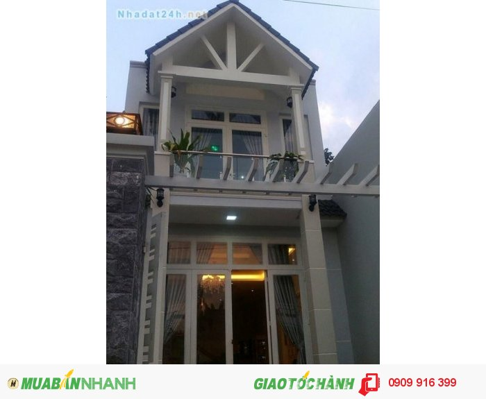 Bán nhà  mới xây Huỳnh Tấn Phát, Q7, HCM giá cực rẻ