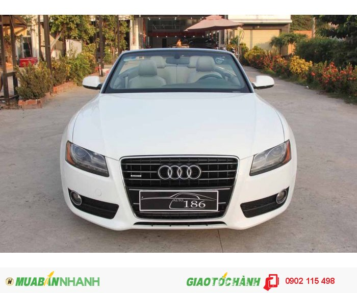 Audi A5 2.0T Quattro Premium Convertible 2011