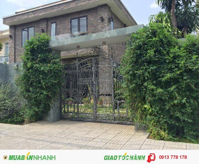 Bán biệt thự 2MT đường Nguyễn Hữu Dật diện tích đất 342m2 – 2 tấm giá 20 tỷ