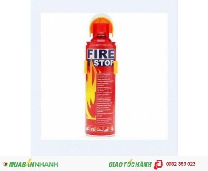 Bình cứu hỏa Mini 500ml  (Giá sỉ)