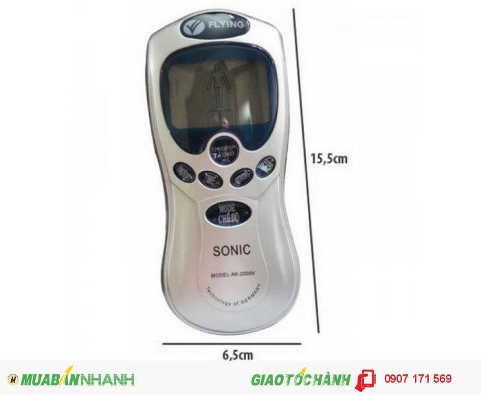 Máy mát-xa trị liệu 4 miếng dán Flying Sonic AK-2000V