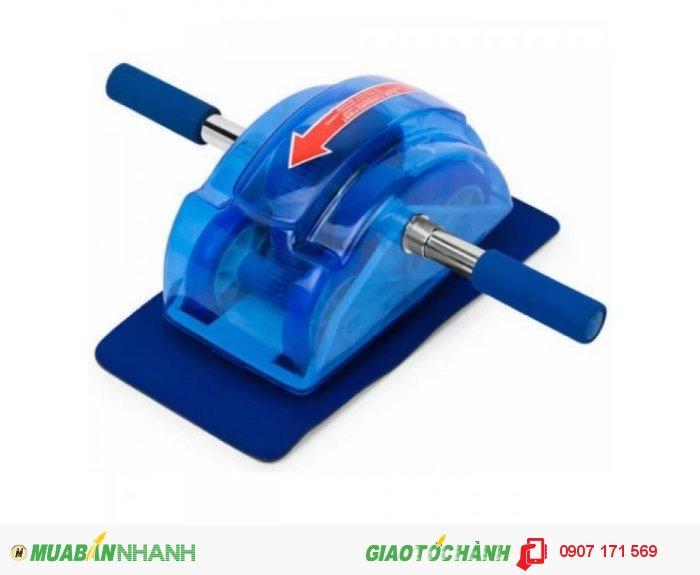 Máy tập bụng đa năng roller slide (xanh) - siêu khuyến mãi lớn nhất chưa từng có