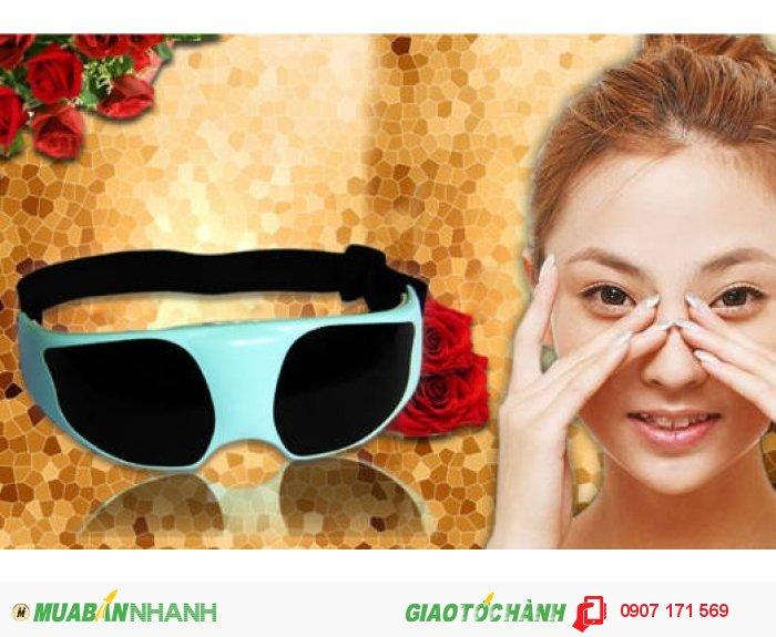 Kính Massage mắt VIBRO SHAPE TS0816 (trắng)