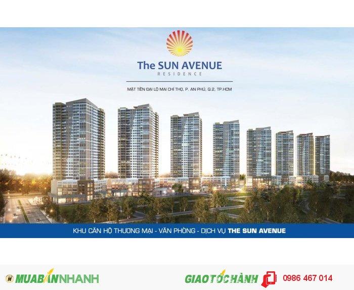 Bạn đã sở hữu căn hộ cao cấp The Sun Avenue chưa?