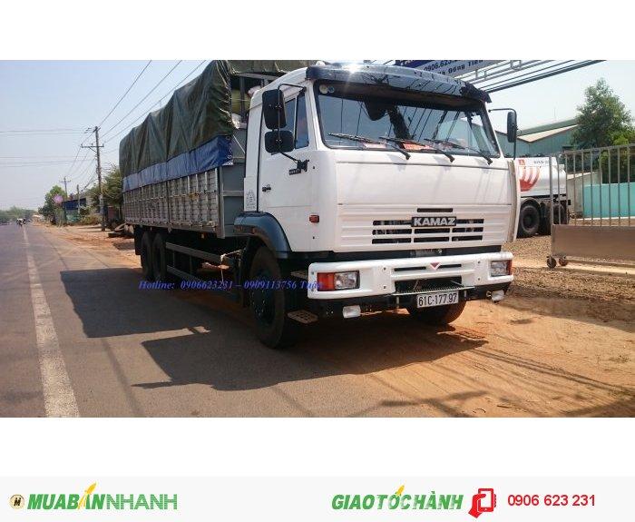 Mua bán xe tải Kamaz cũ & mới | Bán tải thùng Kamaz 14 tấn, Kamaz 3 chân nhập khẩu mới nhất 2020 [Trả góp]
