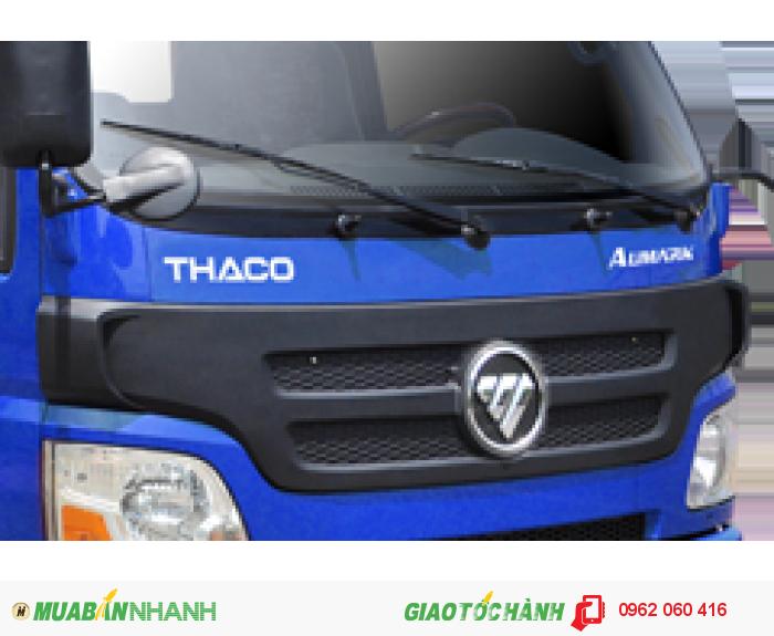 Xe tải 5t ( 5 tấn) AUMARK 500A, tải trọng 5 tấn. động cơ ISUZU, Giá tốt nhất Tây Ninh và Long An