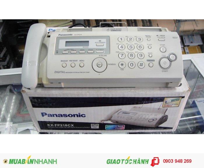 Máy fax panasonic kx-fp218cx mới 100%0