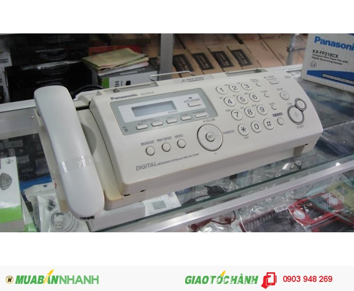 Máy fax panasonic kx-fp218cx mới 100%2