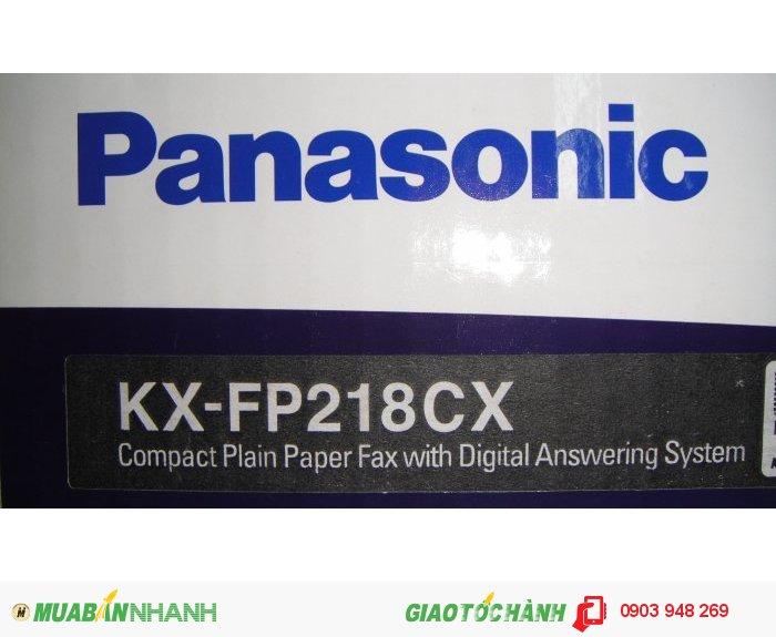 Máy fax panasonic kx-fp218cx mới 100%4