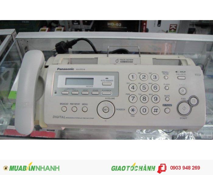 Máy fax panasonic kx-fp218cx mới 100%3