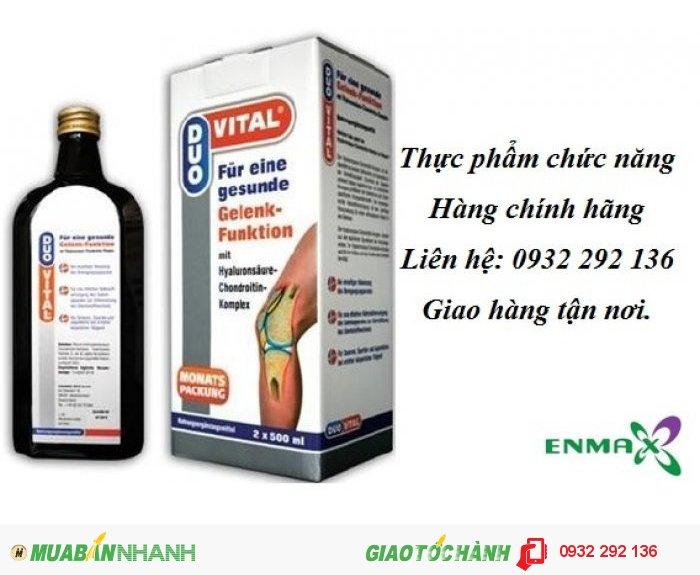 Duo Vital nhập khẩu nguyên chai từ Đức hỗ trợ điều trị đau nhức khớp, thoái hóa khớp, Hotline: 0932 292 1360