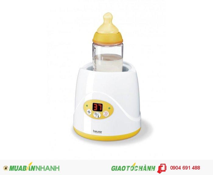 Máy hâm ủ nóng bình sữa và thức ăn cho bé Beurer BY52 chức năng hẹn giờ tự động tắt của CHLB Đức hàng nhập khẩu chính hãng - Công ty Hợp Phát