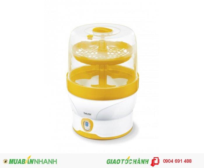 Máy khử tiệt trùng bình sữa bằng hơi nước Beurer BY76 chức năng hẹn giờ tự động tắt của CHLB Đức hàng nhập khẩu chính hãng - Công ty Hợp Phát