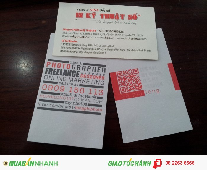 In card visit đẹp, in card visit giấy art tại In Kỹ Thuật Số