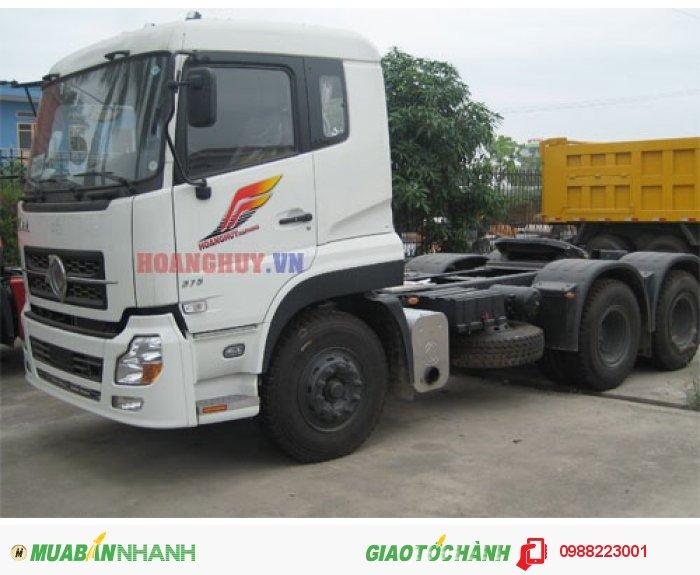 Bán xe đầu kéo Dongfeng Hoàng Huy L375 nhập khẩu nguyên chiếc