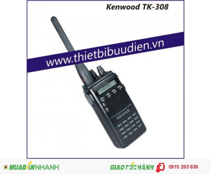 Máy bộ đàm cầm tay Kenwood TK 308 (UHF)