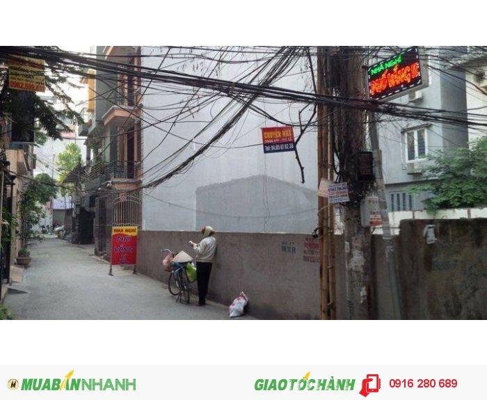 Bán đất khu phố phân lô cán bộ Trung Ương Đảng Cầu Giấy, Hà Nội
