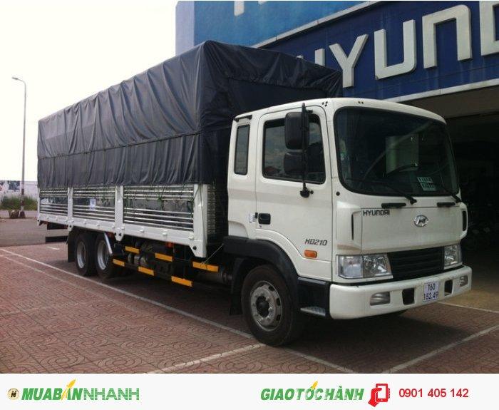Xe tải Hyundai HD210, 13.5 Tấn thùng kín thùng Mui bạt ,Nhập KHẩu Nguyên Chiếc 0