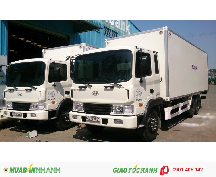 Xe tải Hyundai HD210, 13.5 Tấn thùng kín thùng Mui bạt ,Nhập KHẩu Nguyên Chiếc 2