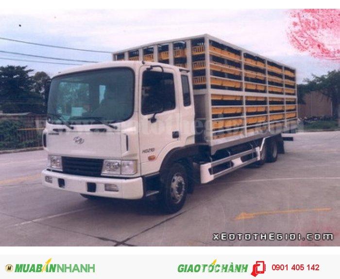 Xe tải Hyundai HD210, 13.5 Tấn thùng kín thùng Mui bạt ,Nhập KHẩu Nguyên Chiếc 4