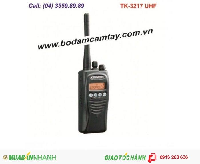 Bộ đàm cầm tay Kenwood TK-3217 UHF (128 kênh)