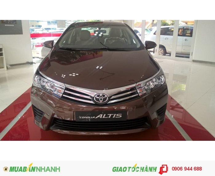 Toyota Altis 1.8G MT, chỉ cần 340tr có xe ngay. Ưu đãi tiền mặt và PK, chỉ có tại Toyota An Thành Fukushima.