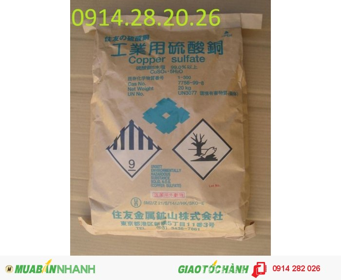 Bán Copper-Sulfate CuSO4-Đồng-Sunphat3