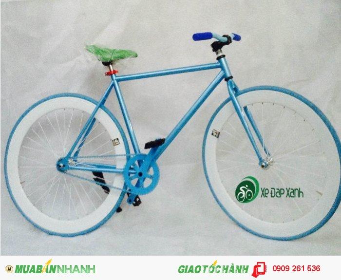 Bán xe đạp không phanh Fixed Gear vành 6 phân giá siêu rẻ