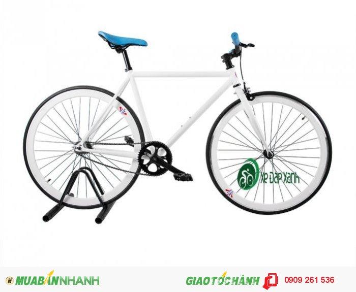 Bán xe đạp không phanh Fixed Gear Fornix Trắng, Hàng chính hãng Fornix, Giá Siêu rẻ