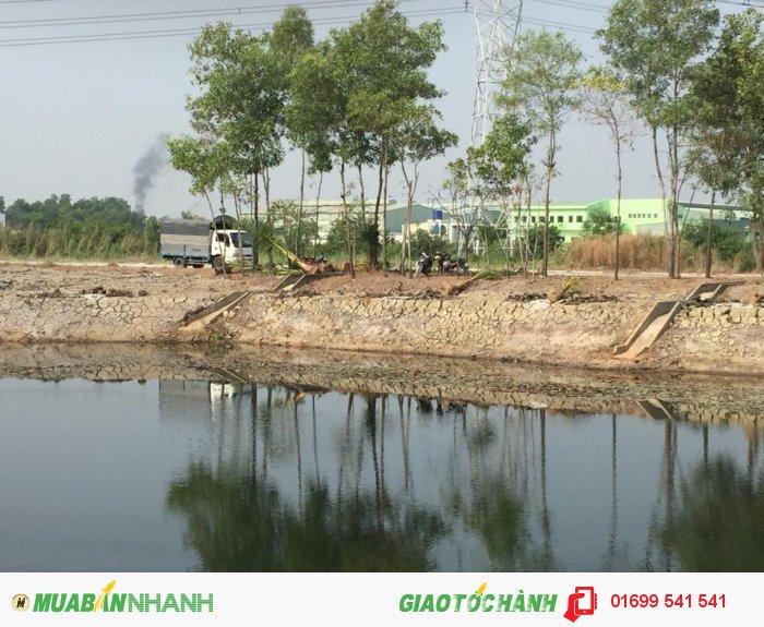 Đất nền thổ cư huyện Bình Chánh, ngay Cầu Xáng