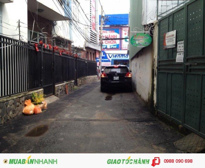 Bán đất hẻm xe hơi Hoàng Văn Thụ, P.8, Phú Nhuận.