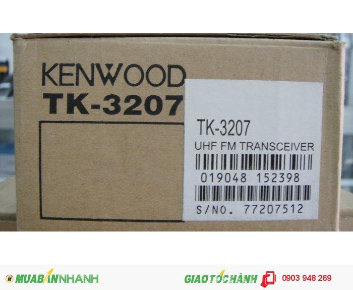 Bộ đàm kenwood TK-3207 mới 100% nhập singapore về
