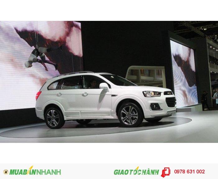 Xe SUV captiva 2016 phiên bản nhất đã có mặt tại Việt Nam 0