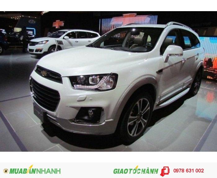 Xe SUV captiva 2016 phiên bản nhất đã có mặt tại Việt Nam 1