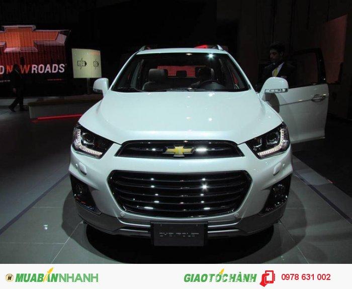Xe SUV captiva 2016 phiên bản nhất đã có mặt tại Việt Nam 2