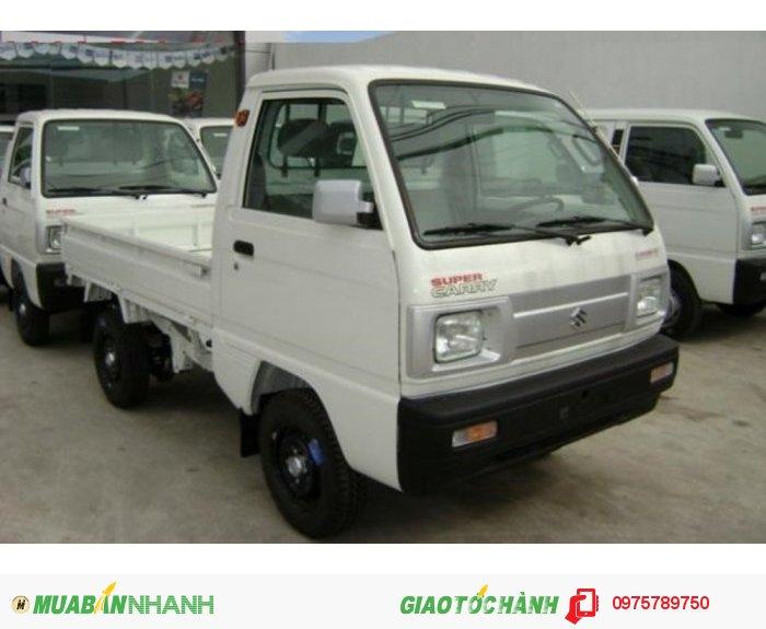 Cần bán xe Suzuki 5 tạ, Suzuki truck, thùng kín, thùng phủ bạt, giao xe ngay 2