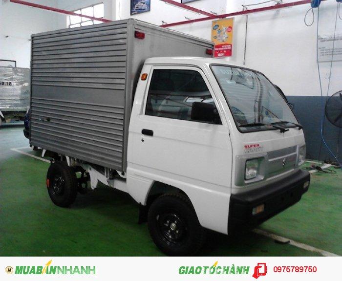 Cần bán xe Suzuki 5 tạ, Suzuki truck, thùng kín, thùng phủ bạt, giao xe ngay 3