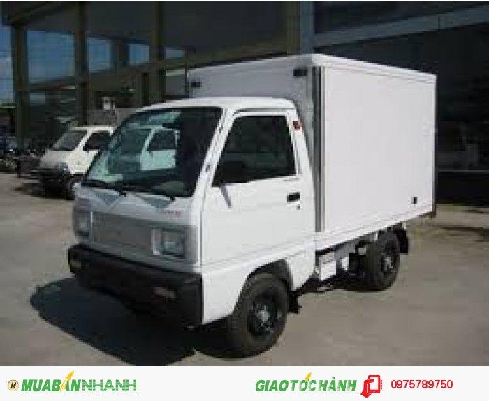 Cần bán xe Suzuki 5 tạ, Suzuki truck, thùng kín, thùng phủ bạt, giao xe ngay 4