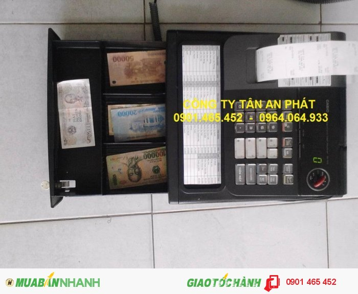 Thanh Lý Máy tính tiền Casio Se S10 cho Salon Tóc tại Gò Vấp Quận 1 Quận 102