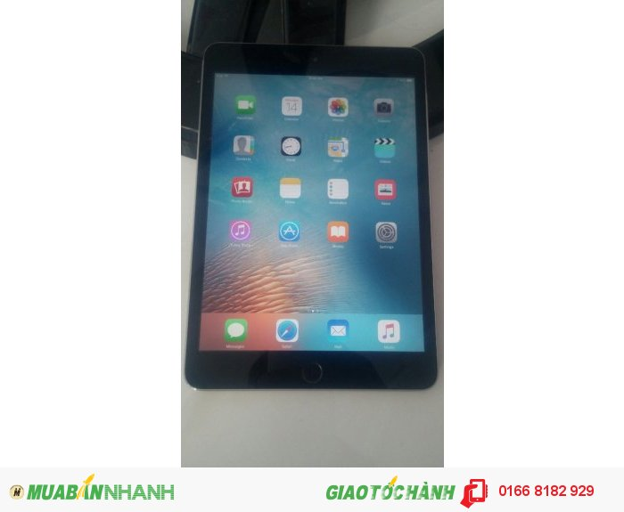 Ipad Mini 2  --- 32gb --- Wifi only --- màu Gray 98%