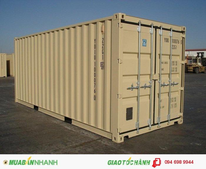 Cho thuê Container Kho, Văn Phòng 20 -40 Feet Uy Tín