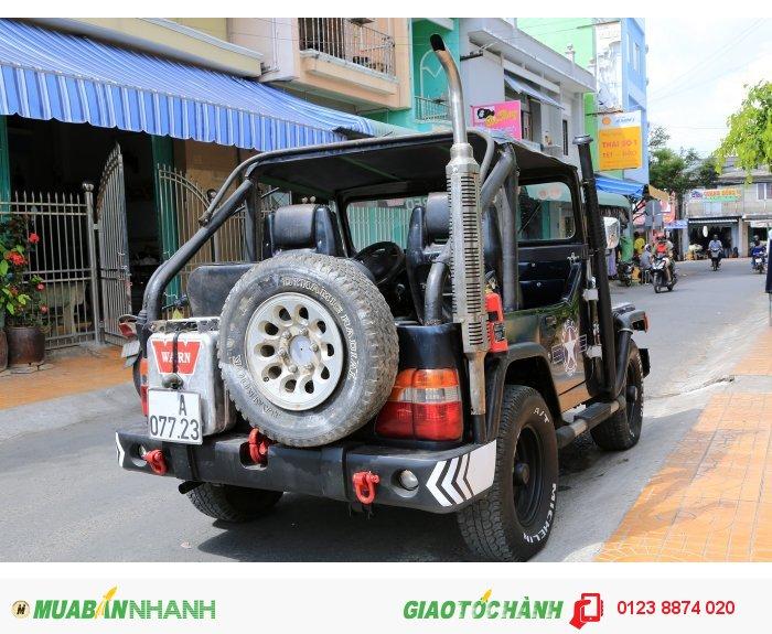 Xe jeep bầu cj5 máy dầu toyota