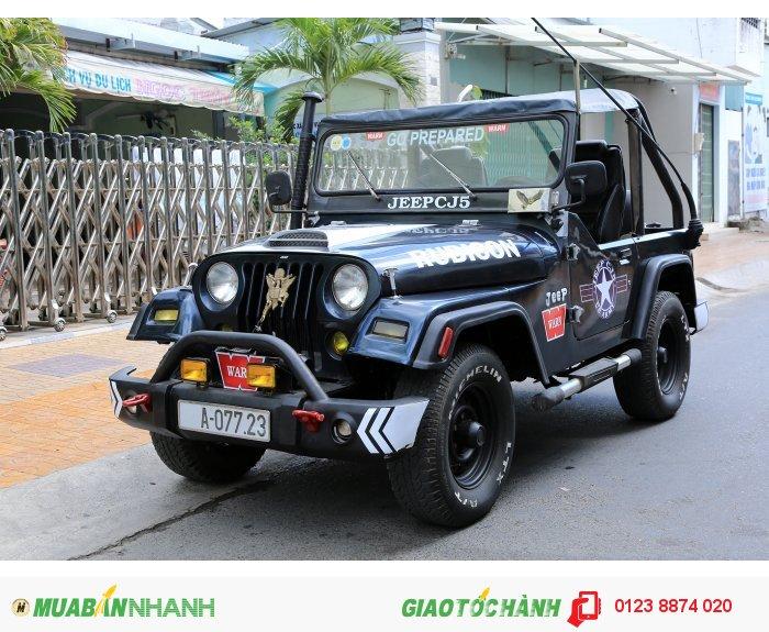 Xe jeep bầu cj5 máy dầu toyota 3