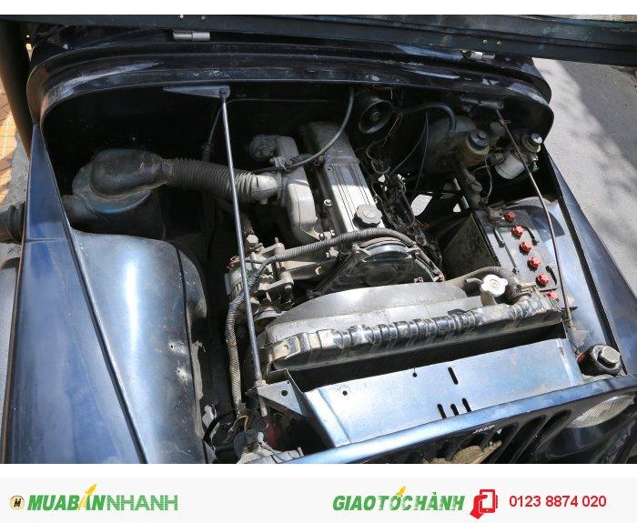 Xe jeep bầu cj5 máy dầu toyota 4