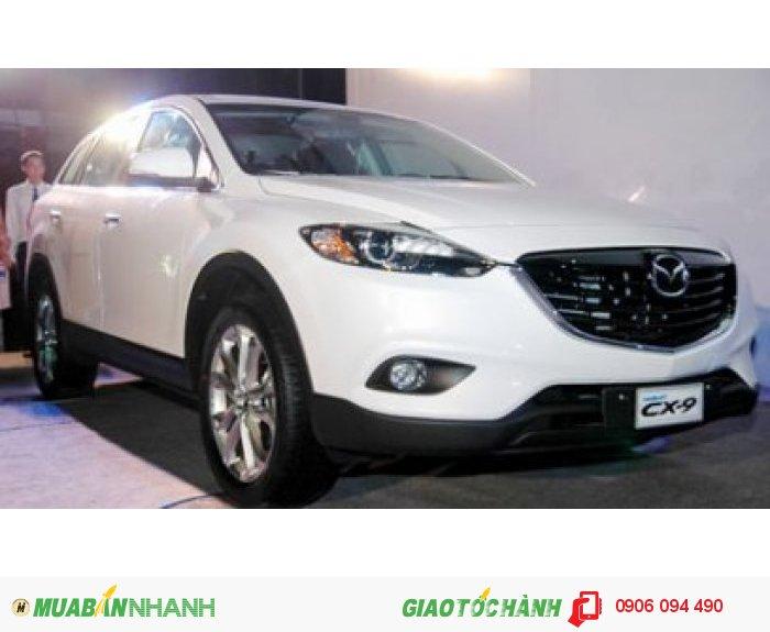 Mazda CX9 ưu đãi cực sốc nhất, mazda cx9 nhiều quà tặng nhất tại SR mazda Gò Vấp